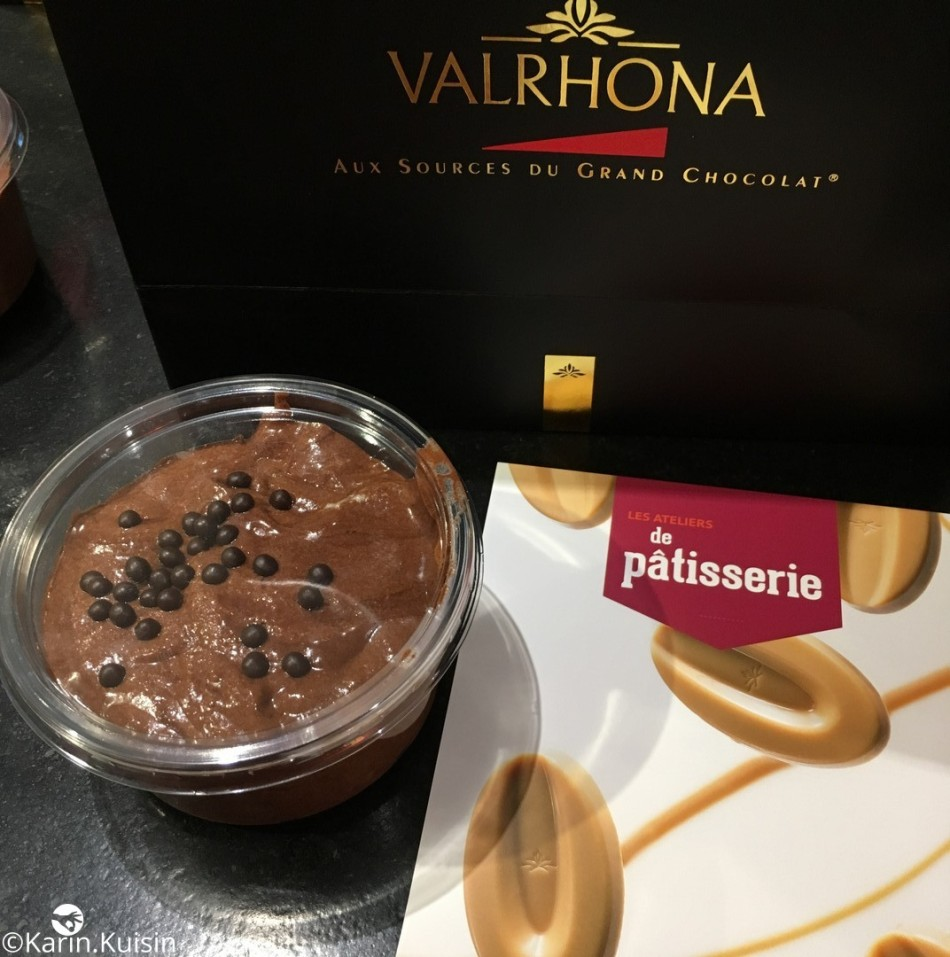 mousse chocolat valrhona