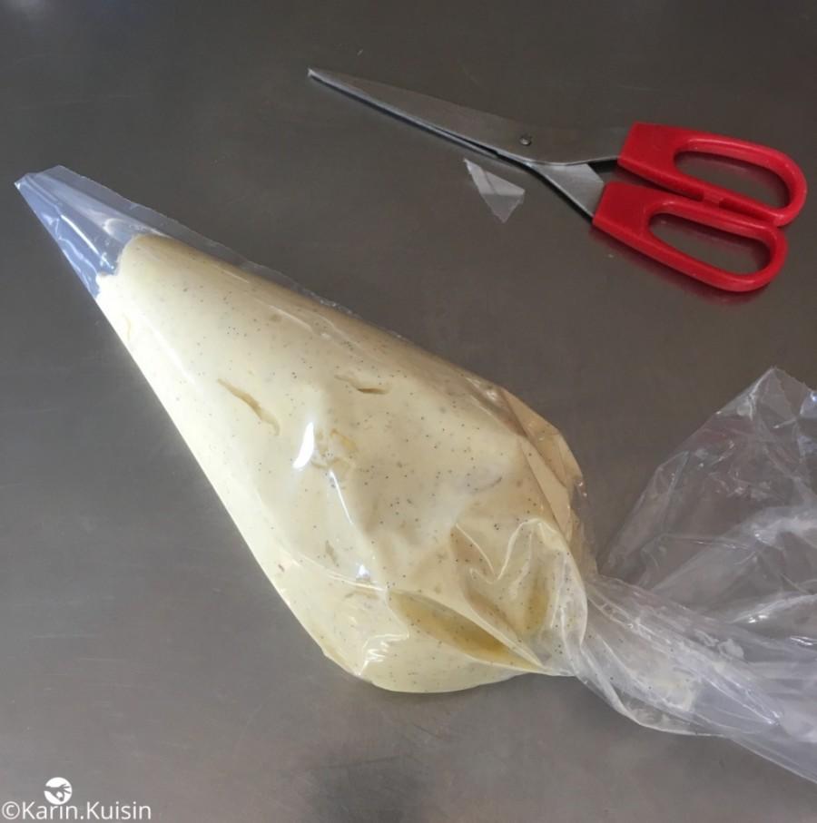 crème mousseline poche