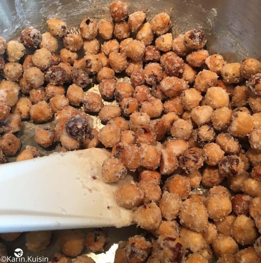 noisette fruit sec caramélisé cuisson enrober