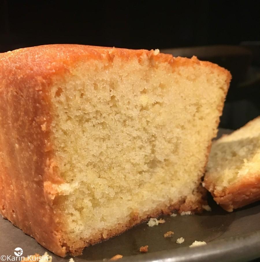 cake citron découpe