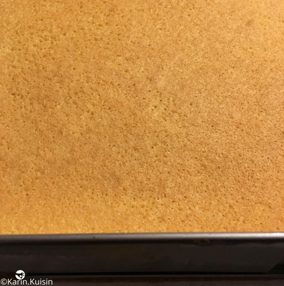 Génoise cuisson cadre