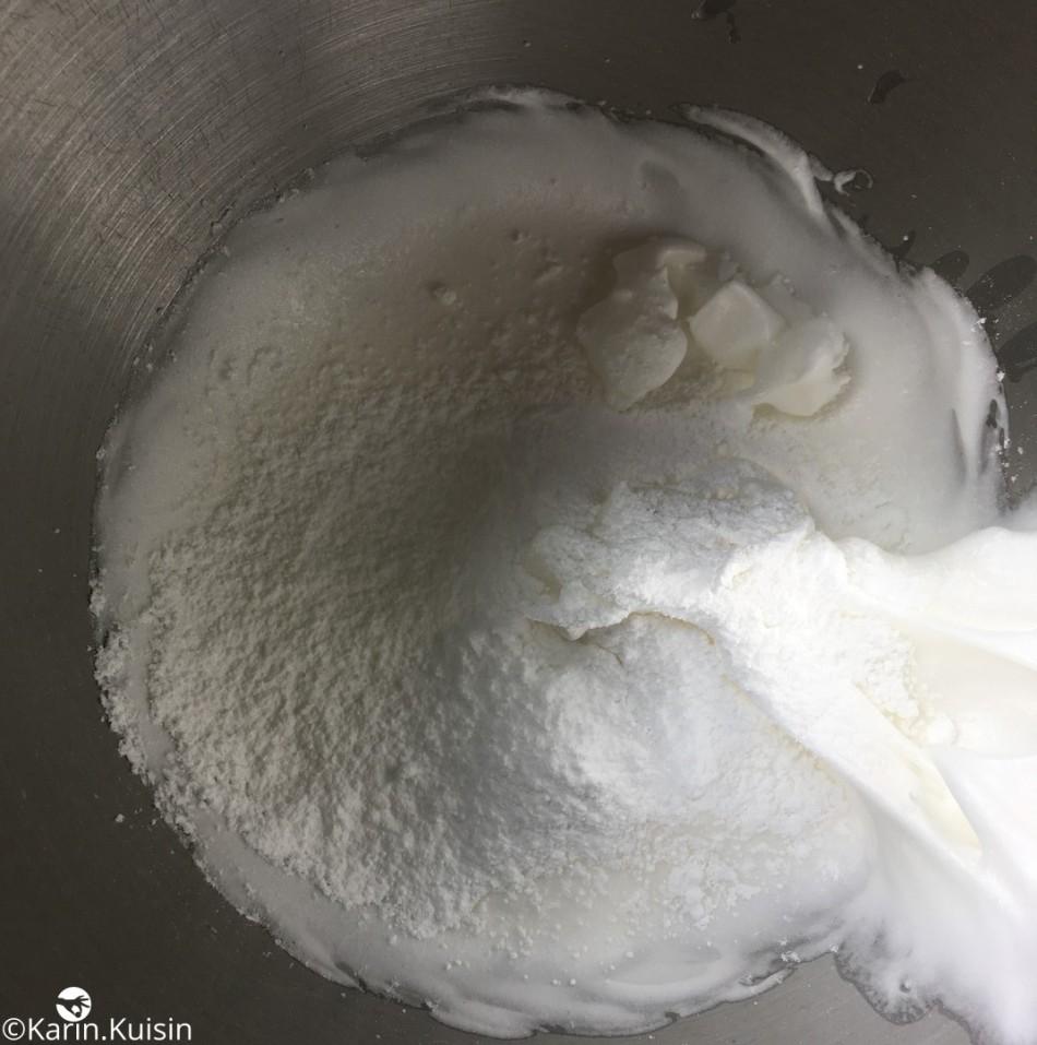 meringue italienne préparation
