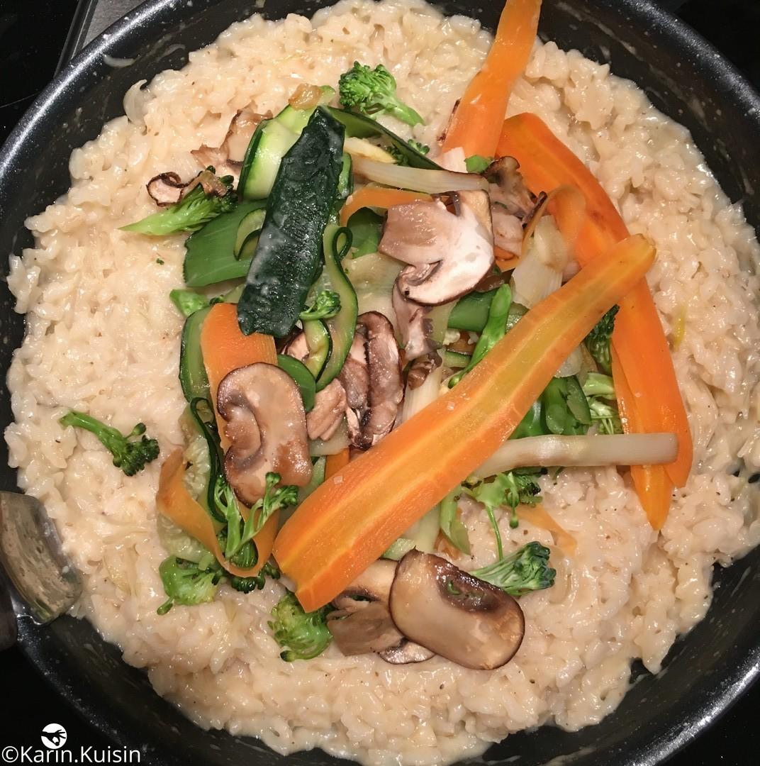 Risotto aux petits légumes