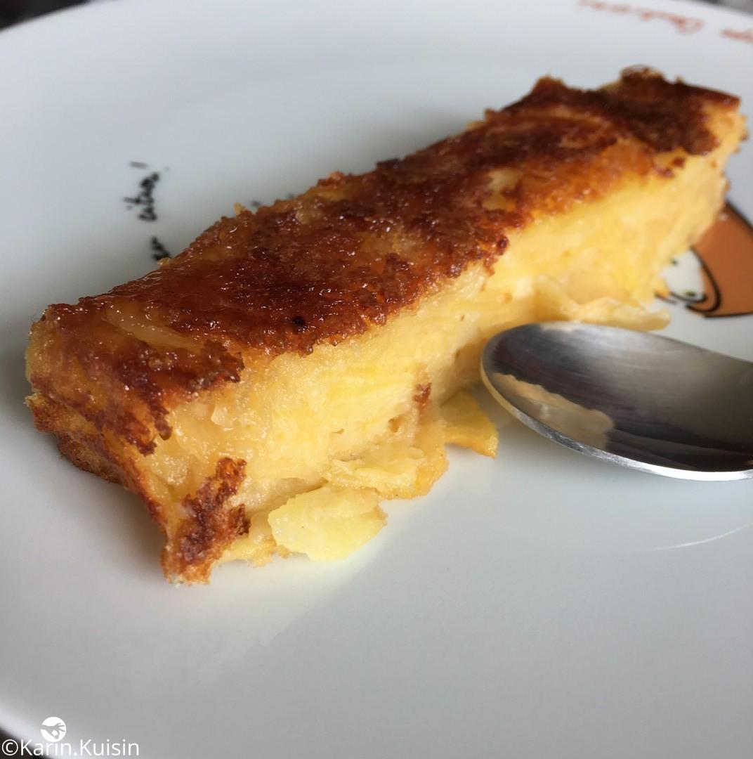 Gâteau invisible part
