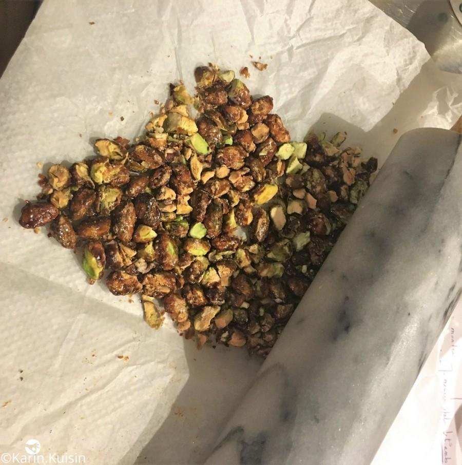 concasser pistache