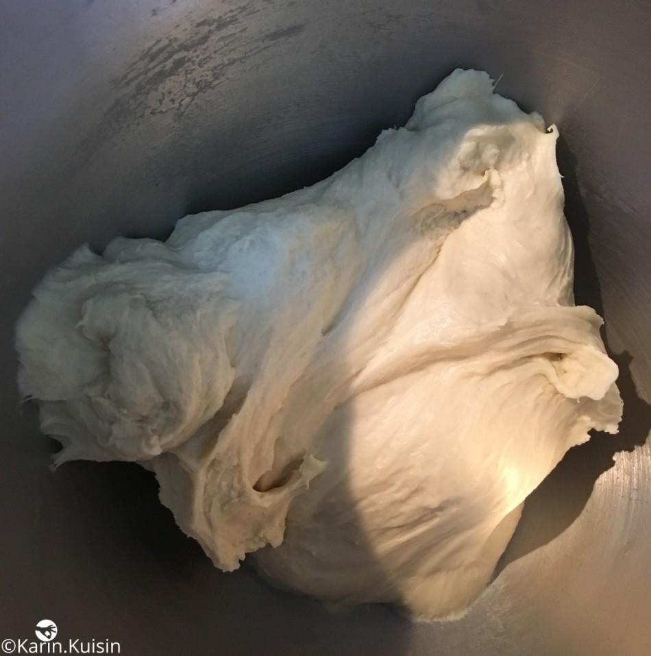 détrempe pétrir pâte