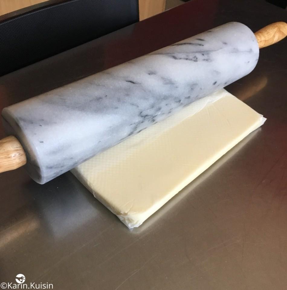 beurre tourage préparation