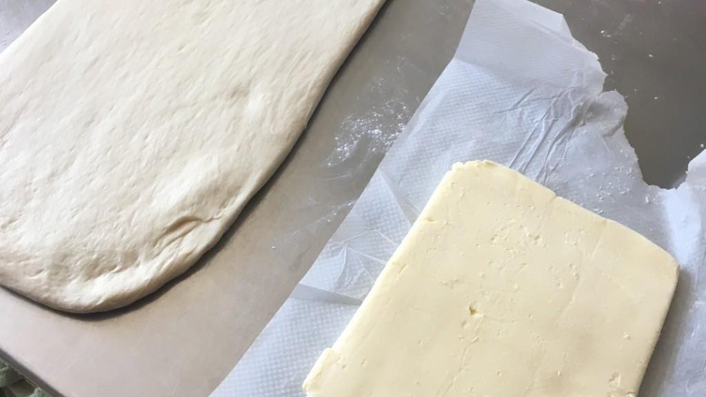pâte feuilletée levée PLF enchasser