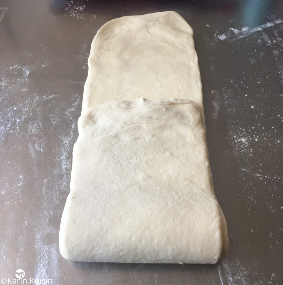 pâte feuilletée levée PLF tour simple
