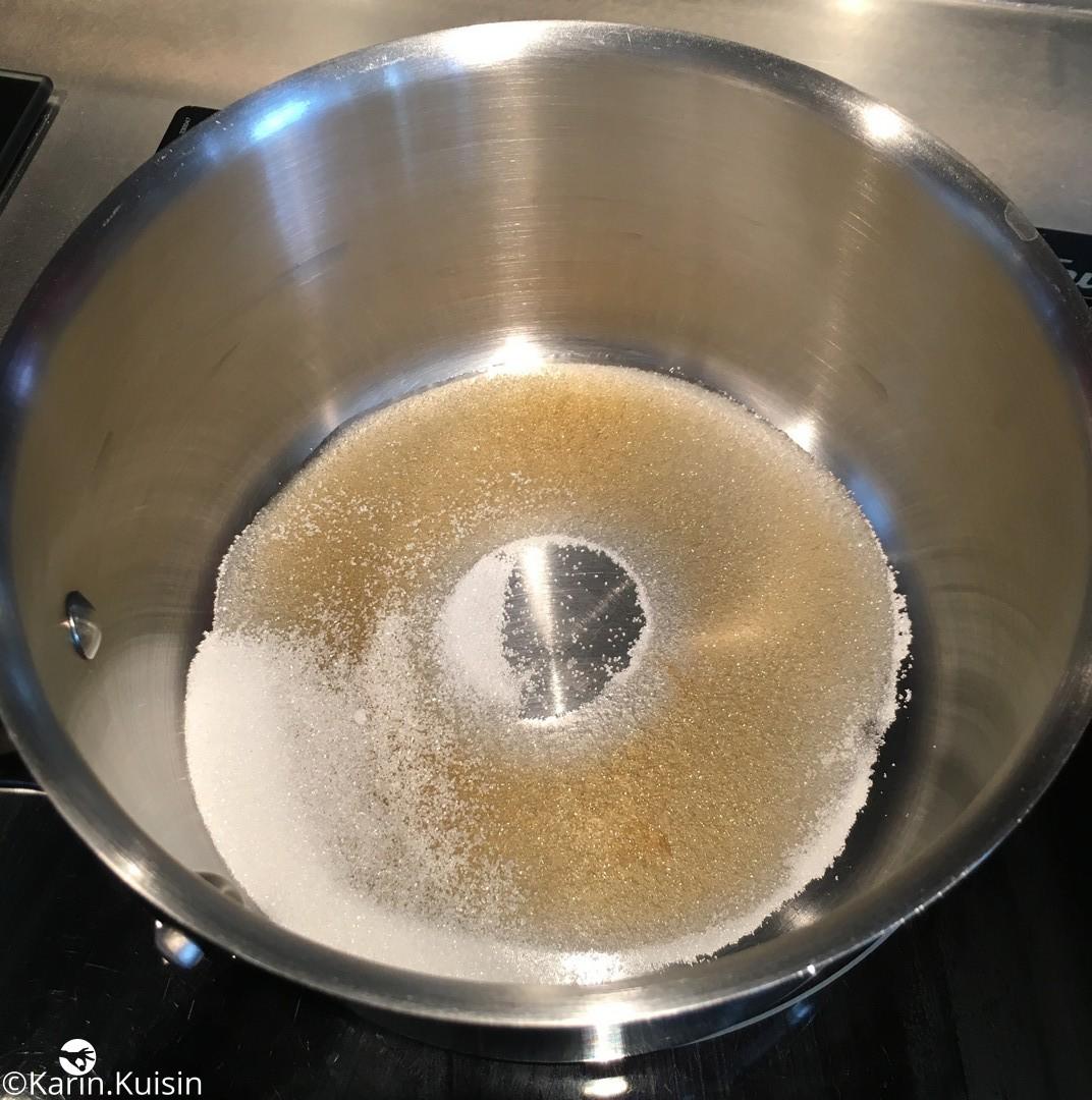 caramel sec cuisson