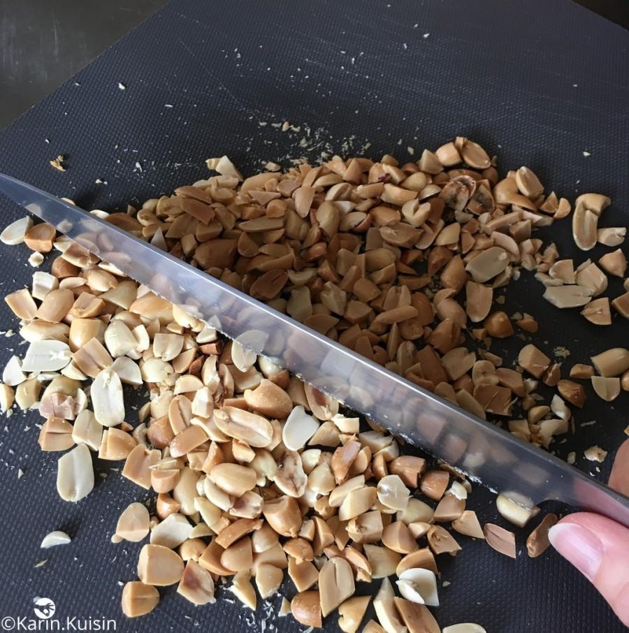 cacahuète couper