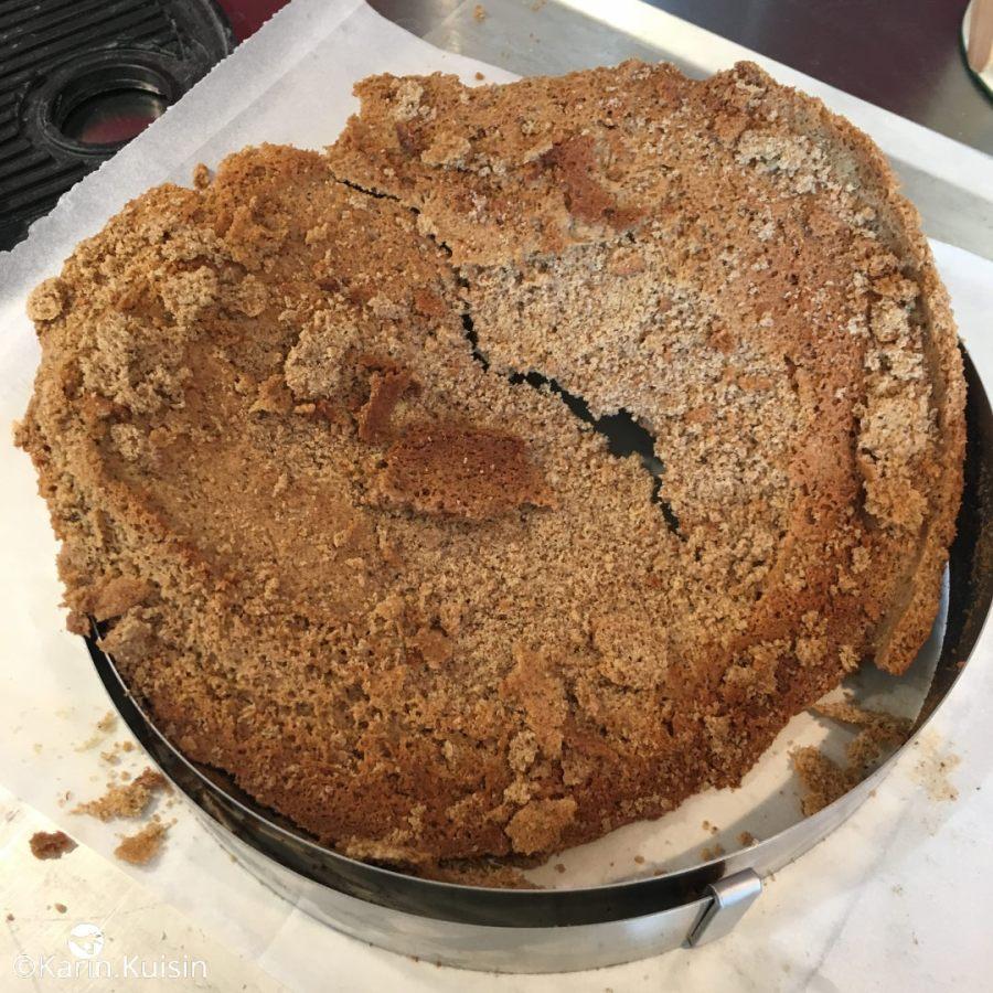 Fin du fond de tarte en sablé