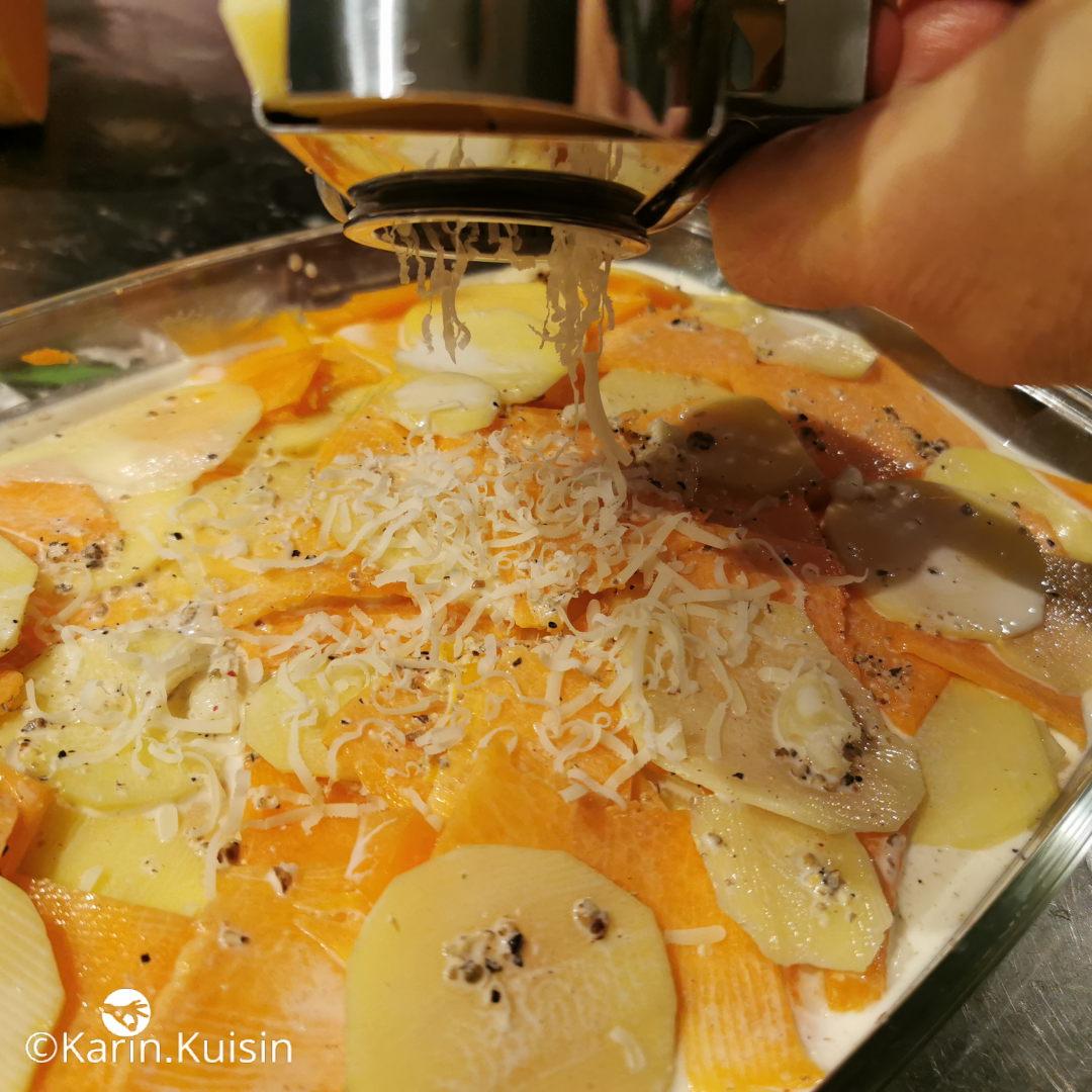 Râpez le fromage
