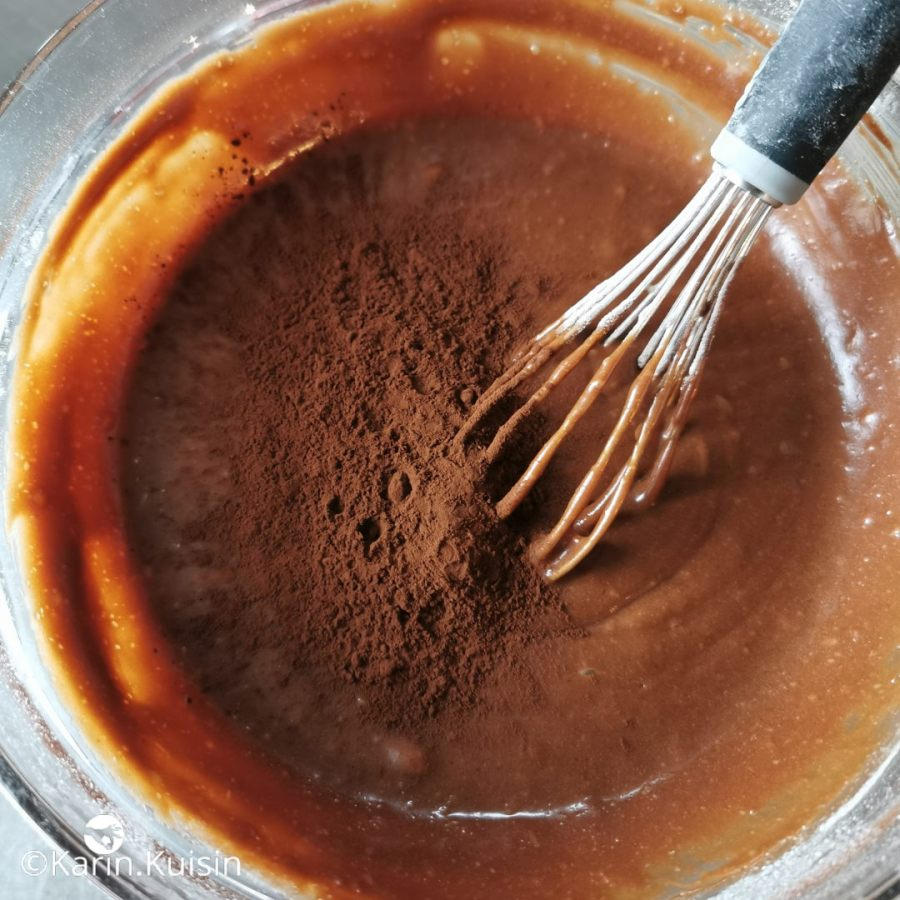 Ajoutez le cacao