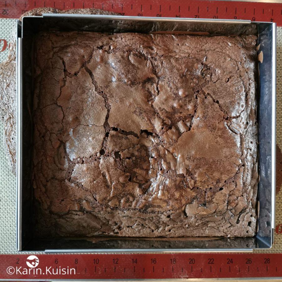 Cuisson du brownie