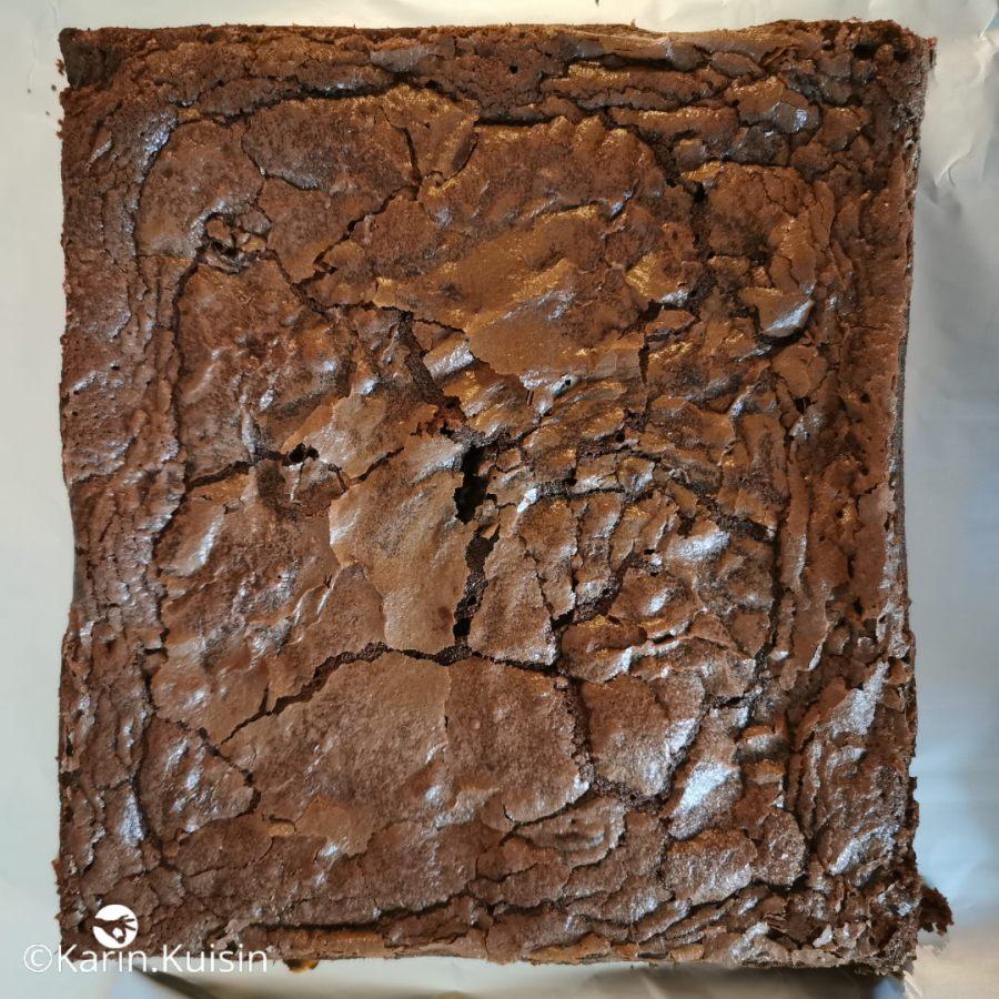 Décerclez le brownie